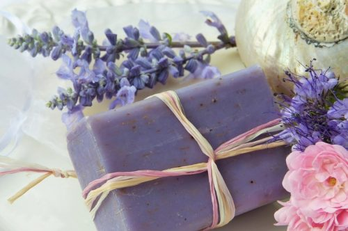 Purple Lavender Sage New Soap