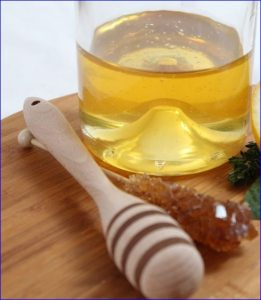 honey sugar used in soap making process